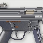 15   P M   HECKLER et KOCH mod MP 5  3