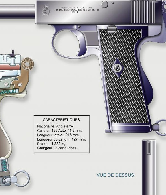 48   WEBLEY et SCOTT Mode Navy Cal 455 Auto  3